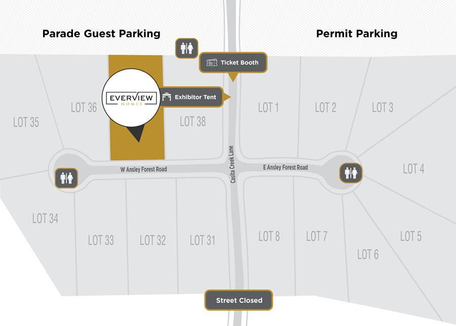 Everview Homes Parade Site Plan