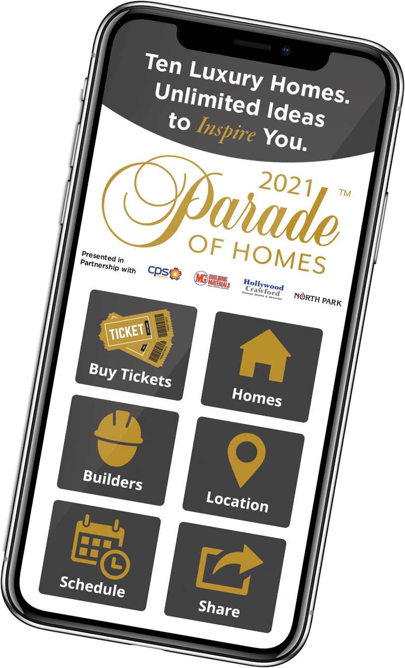 Parade of Homes Mobile App