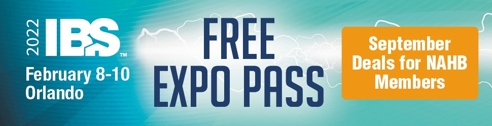 2022 International Builders Shw Free Expo Pass