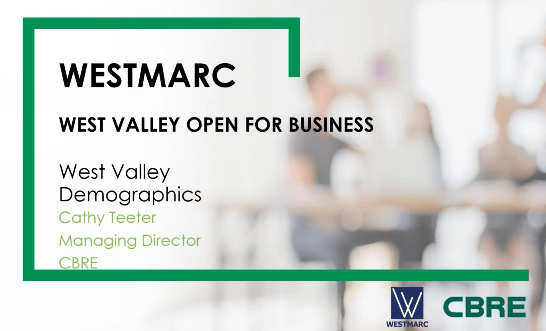 West Valley Open for Business Globe & City of Goodyear_