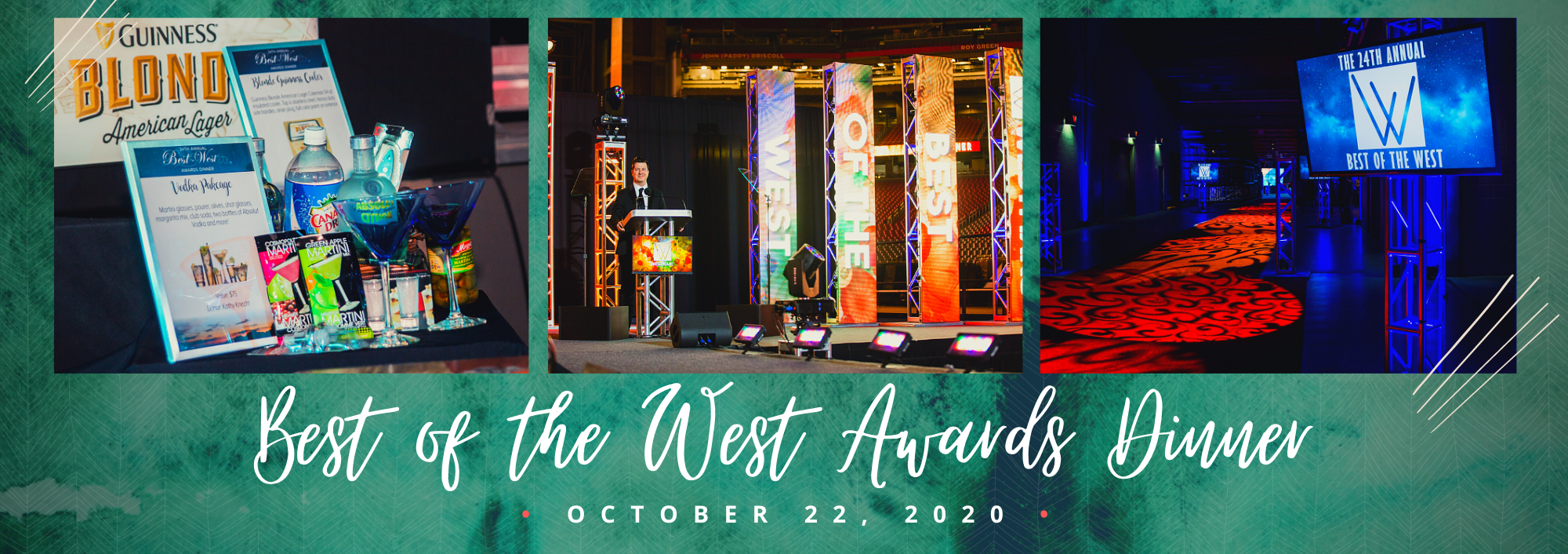 Best of the West Awards Dinner honors people, projects and programs that move the West Valley forward!  Join us for this outdoor dining and entertainment evening under the stars at Phoenix Raceway in Avondale on October 22nd!