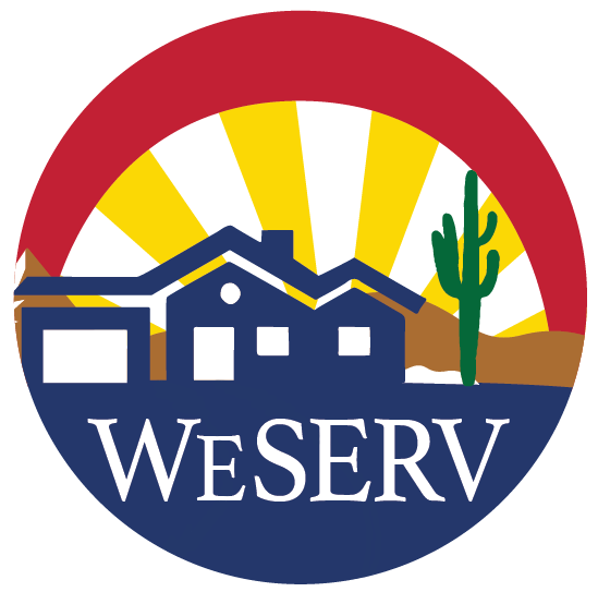 WeSERV Circle - Color Logo png