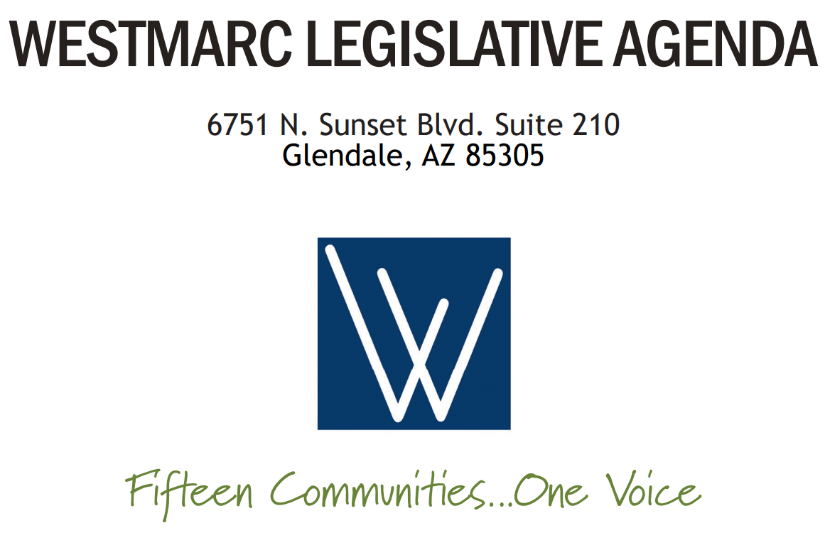 Westmarc Legislative Agenda