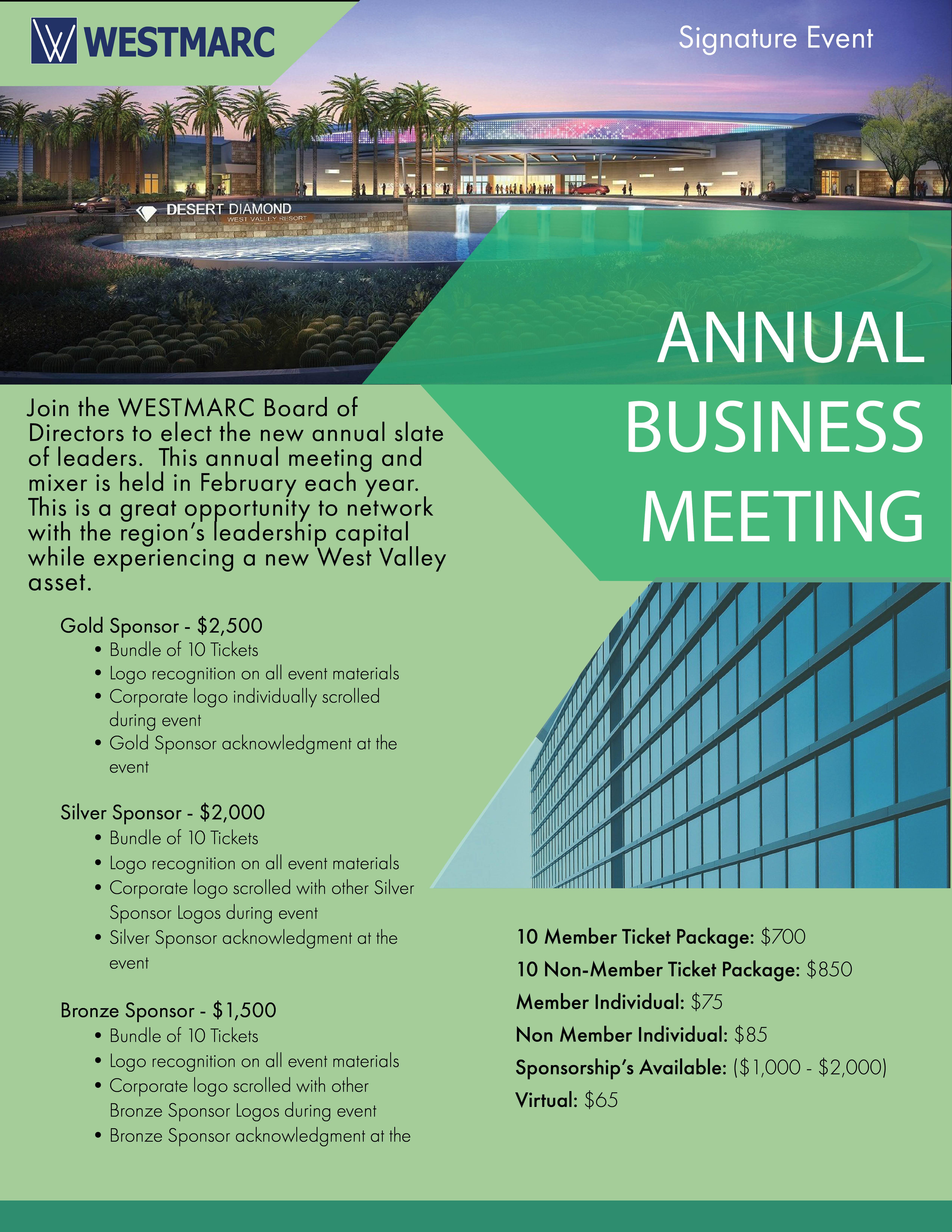 WESTMARC Annual Meeting