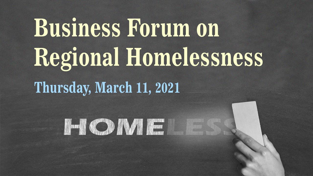 Business Forum on Regional Homelessness