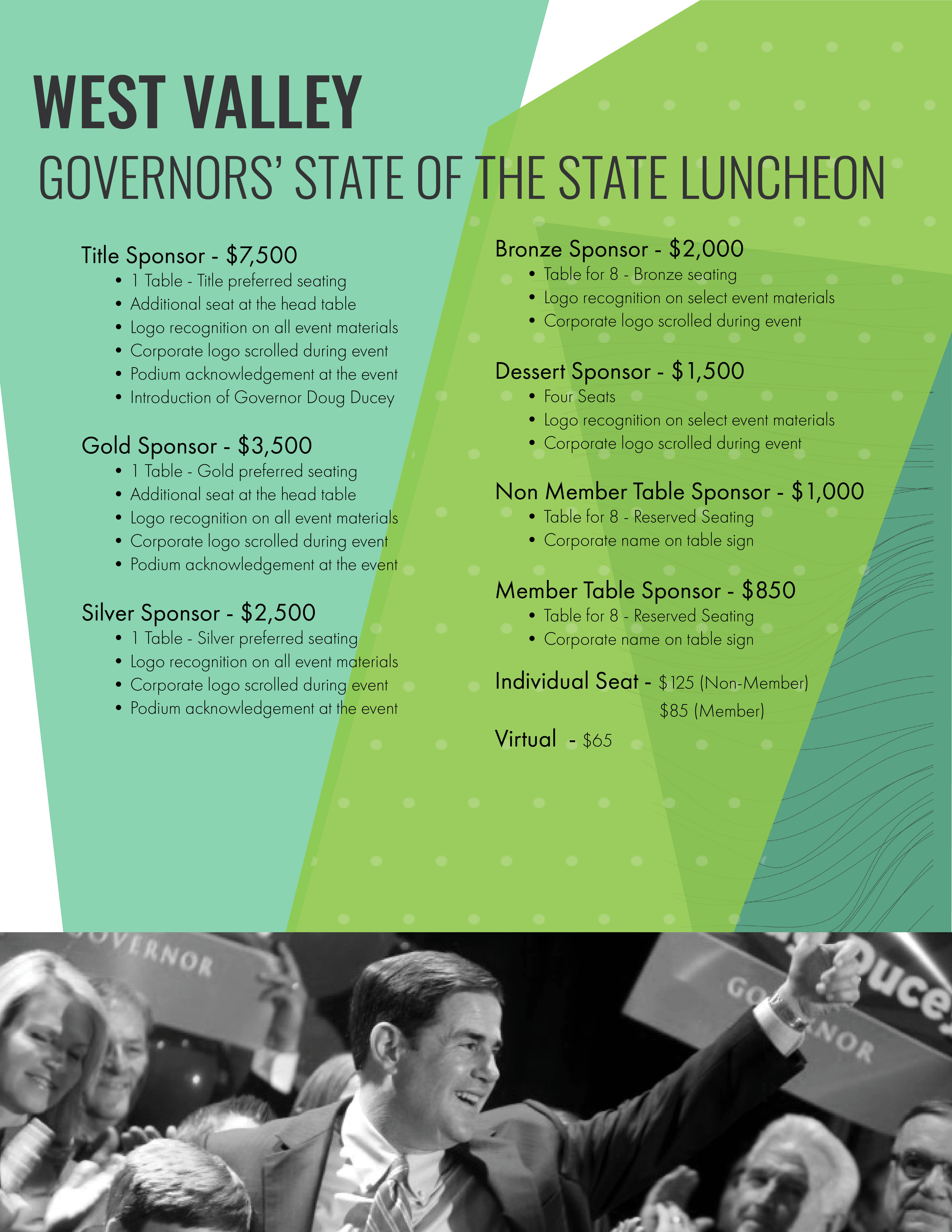 GOVERNORS' STATE OF THE STATE LUNCHEON
