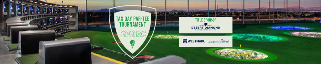 Join WESTMARC & Leadership West at TopGolf for a Tax Day Par-Tee Tournament!