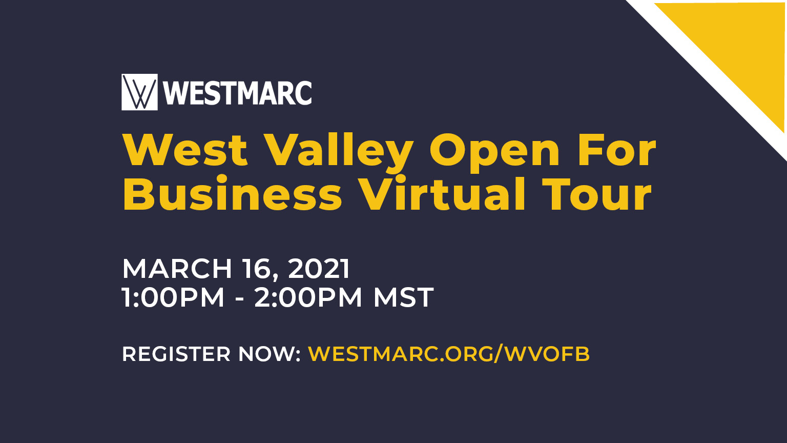 West Valley Open for Business Virtual Tour