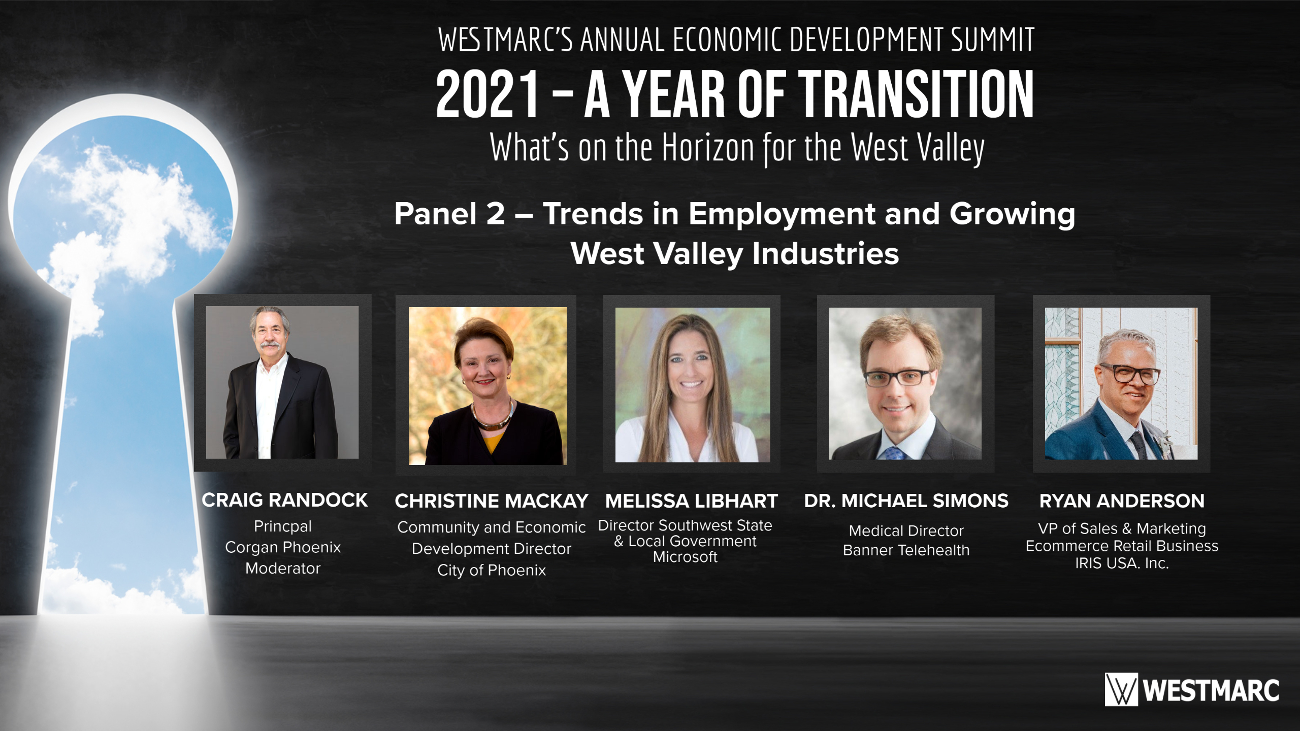 Panel 2 - Trends in Employment and Growing West Valley Industries