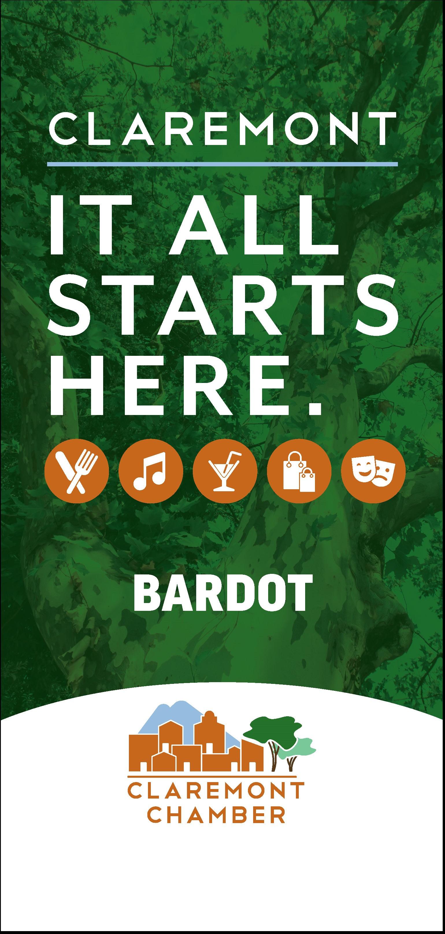 Bardot Outlined Banner