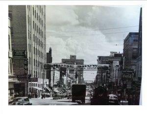 Downtown Little Rock, circa 1951