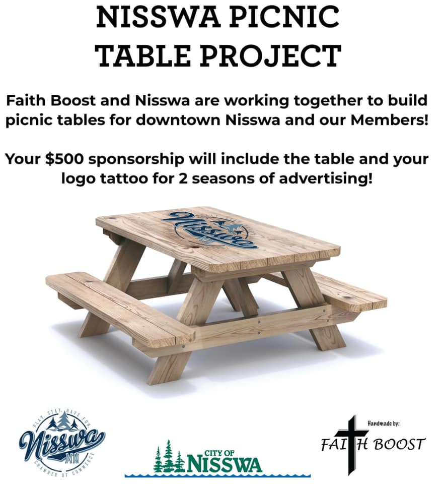 Picnic Table Project Flyer