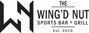 Wingd Nut Golf Flag Logo