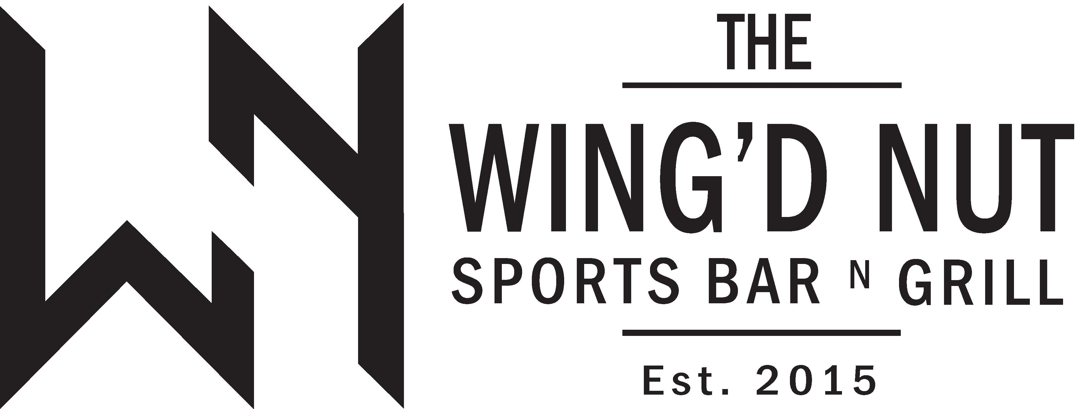 Wingd Nut Golf Flag Logo