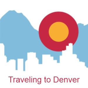 Travel to Denver Chunky Button