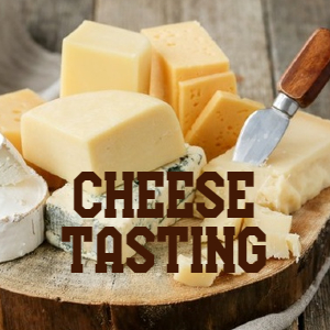 Cheese Tasting Button