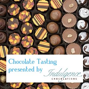 Chocolate Tasting Button