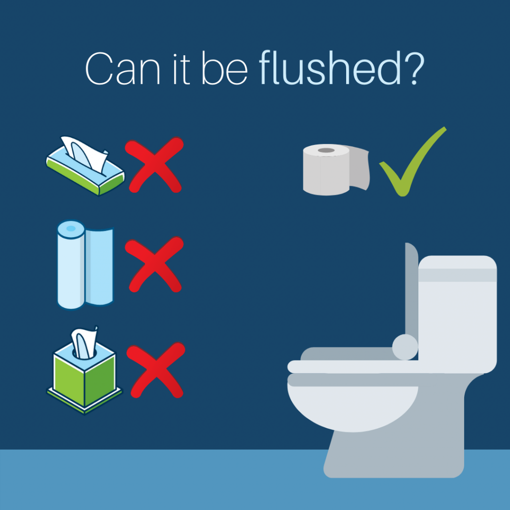 IEUA Can it be flushed?