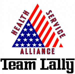 Health Service Alliance (Team Lally) Logo