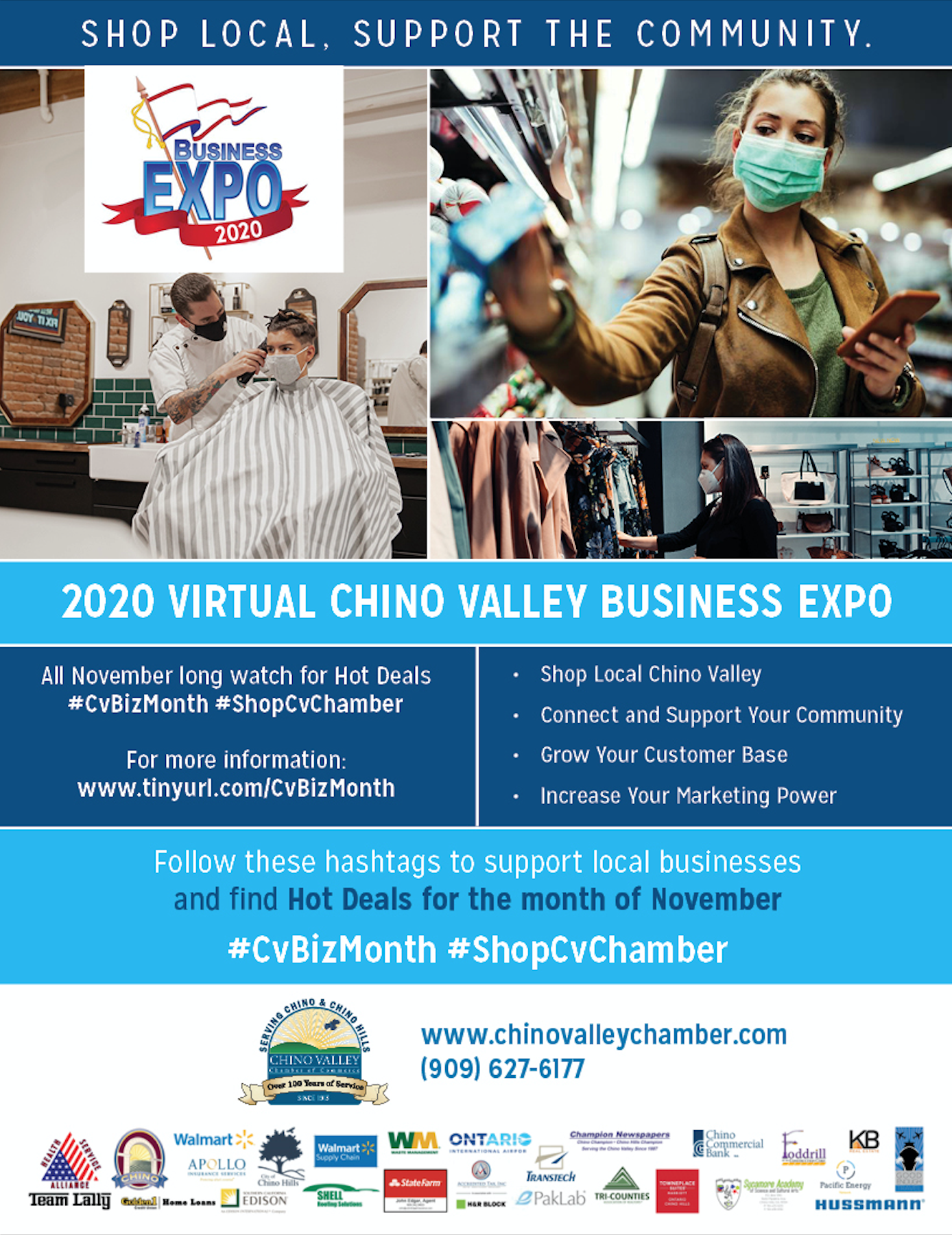 2020 Virtual Chino Valley Chamber of Commerce Business Expo #CVBizExpo