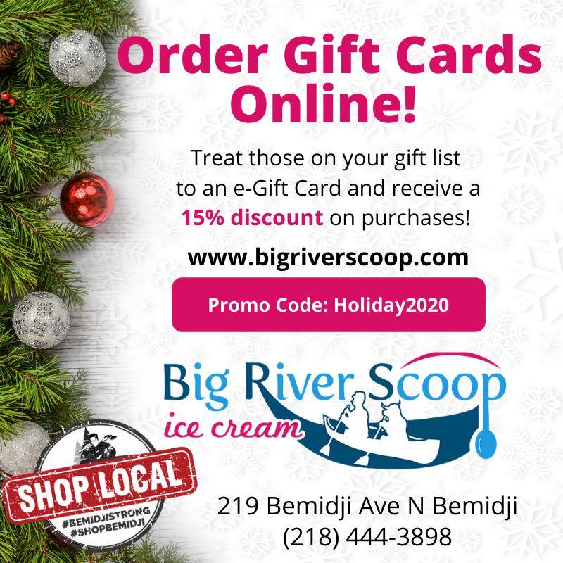 Big River Scoop Shop Local Ad