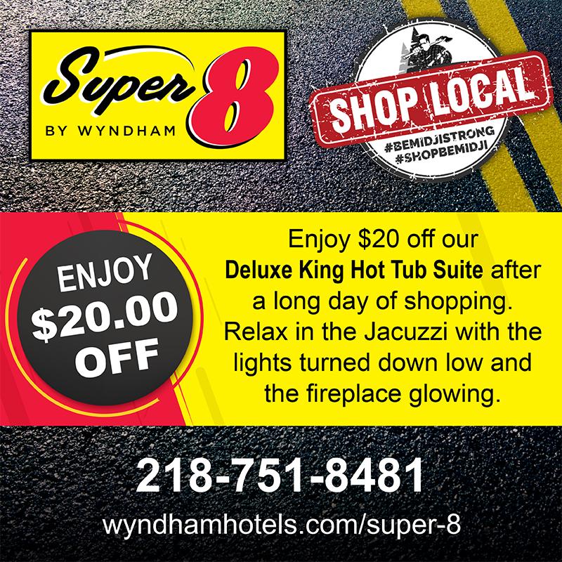 Super 8 Shop Local