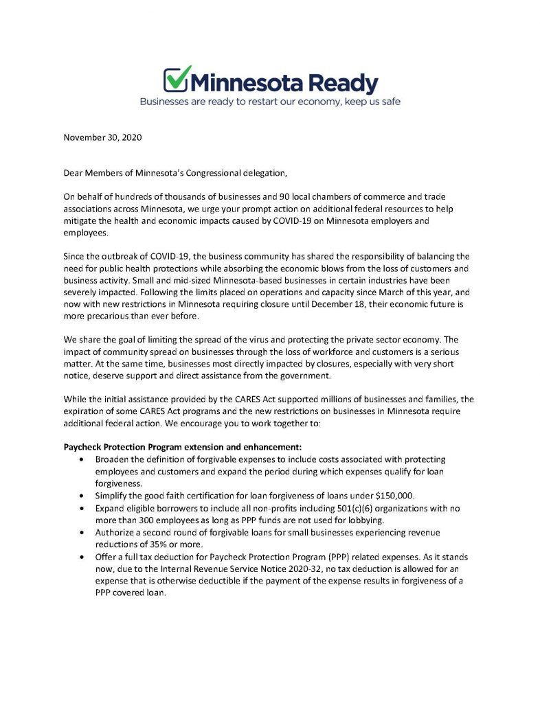 MN READY COALITION PAGE 1