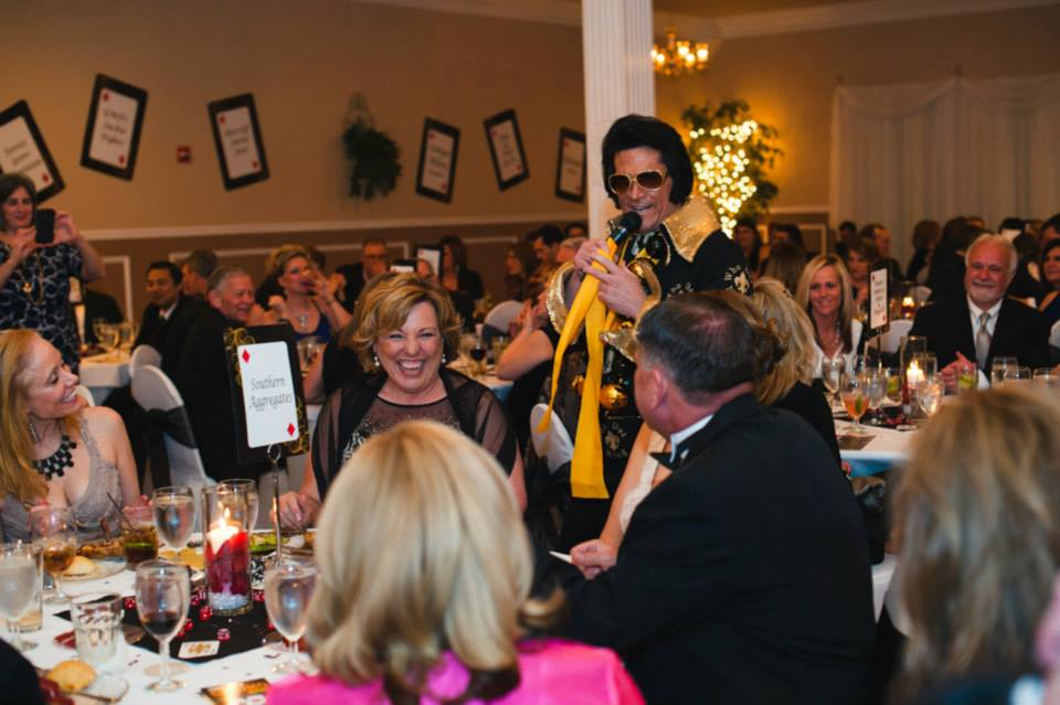 Who dat Elvis at Gala