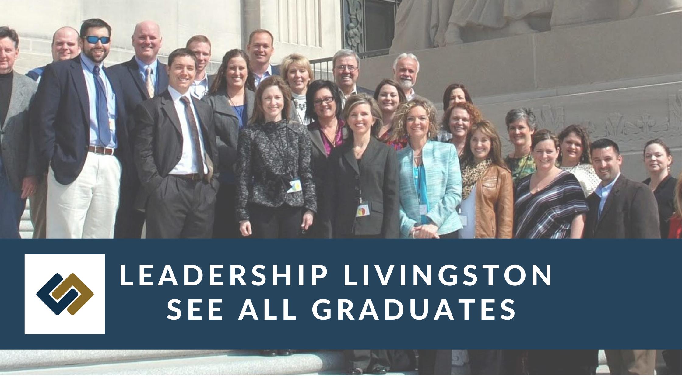 Leadership Livingston Graduates