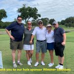 Wimmer Solutions hole sponsor labeled