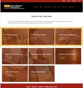 New Resources page for NMI