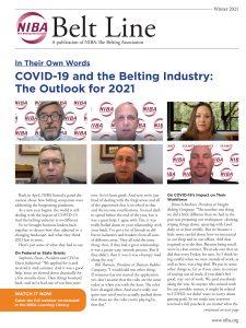 Belt Line Winter 2021 cover