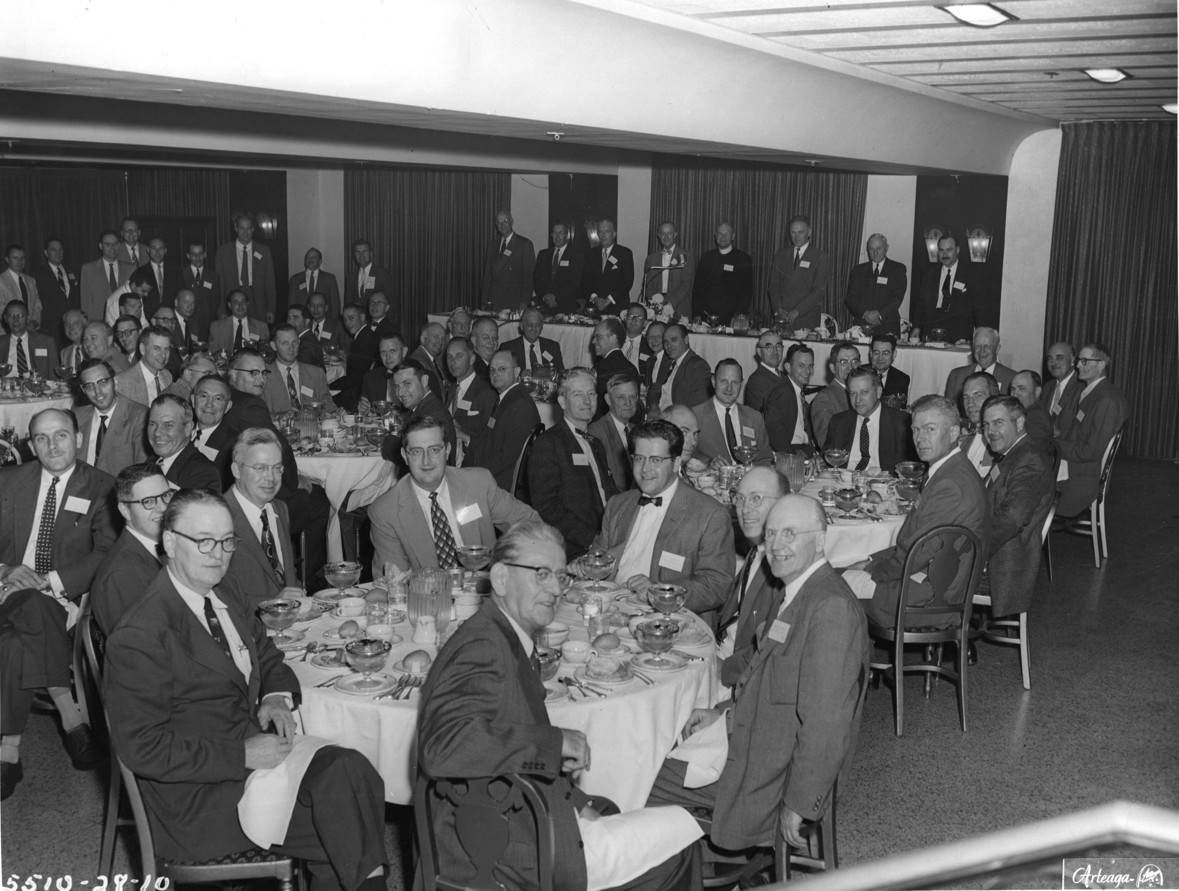 ACEC Annual Meeting 1955 - tom Roche far right table (small)