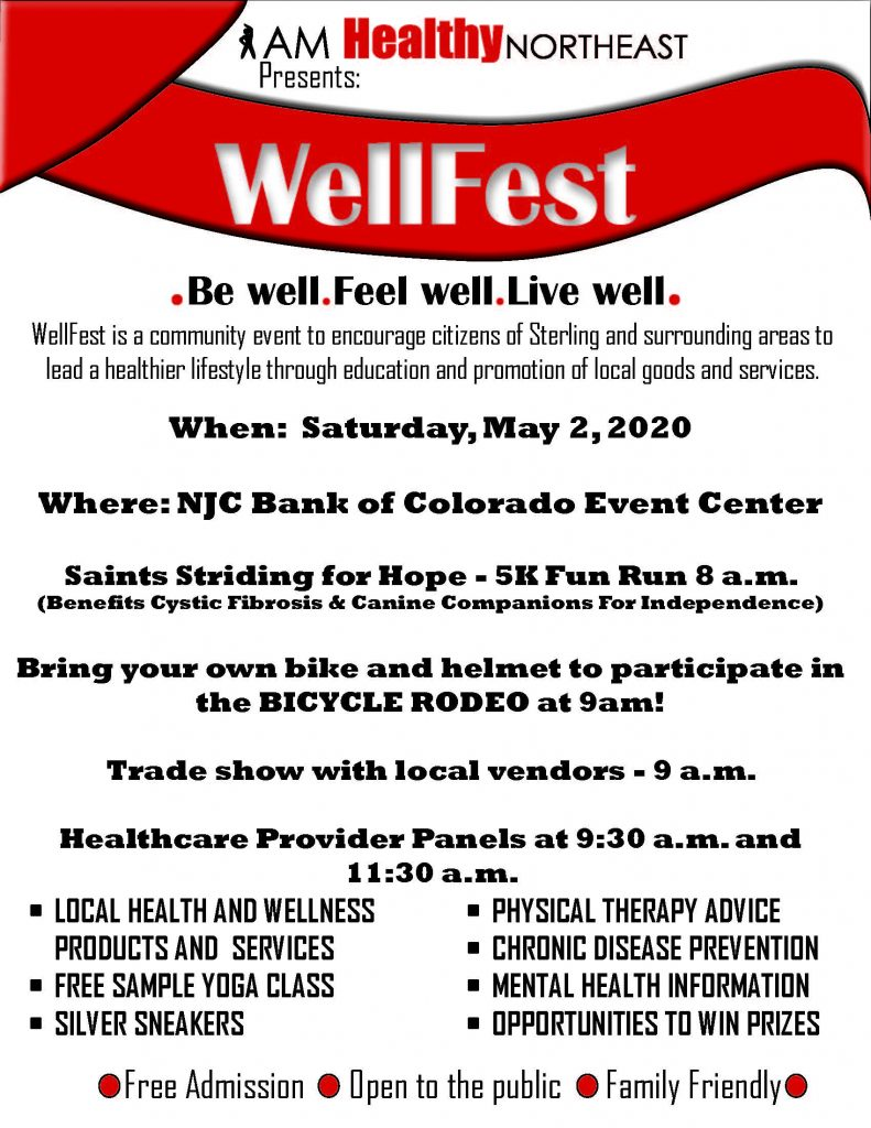 2020 WellFest Flyer (Revised)