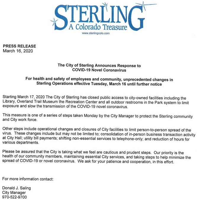 city of sterling