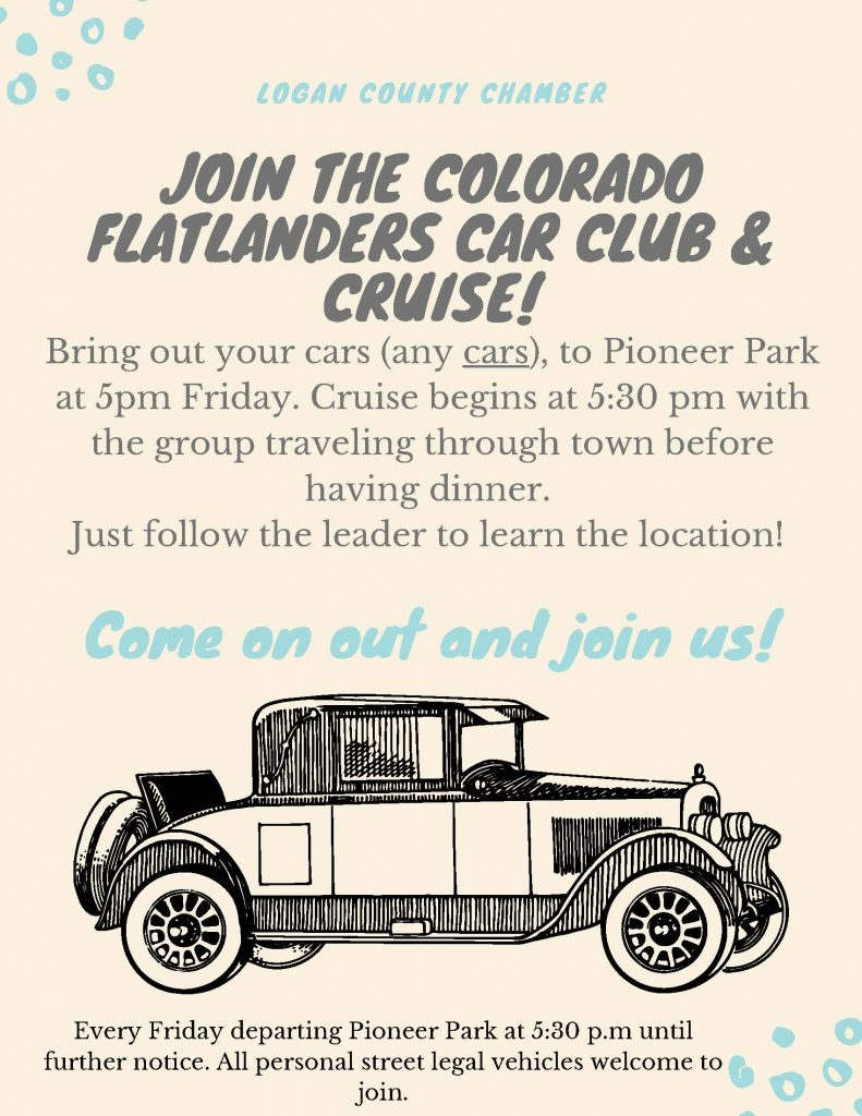 JOin our Cruise! 6.16.2020