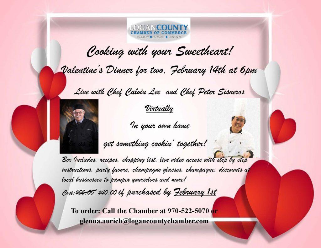 Valentines Cooking Together Flyer - Copy