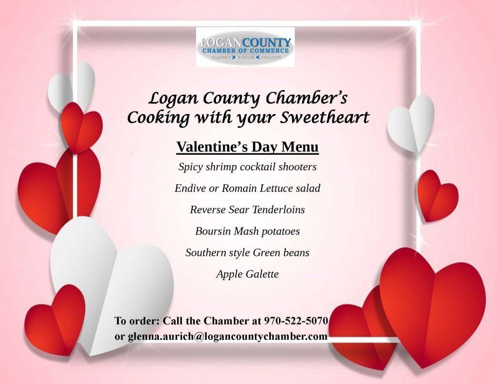 Valentine's Cooking Together Menu Flyer - Final