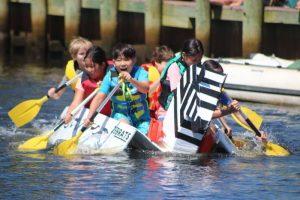 2019 Cardboard Boat Race