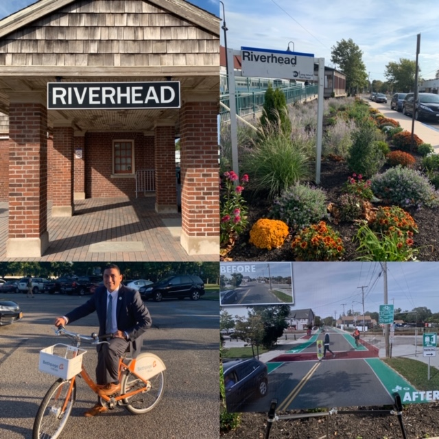 Bike Share coming soon to the Riverhead Train Station