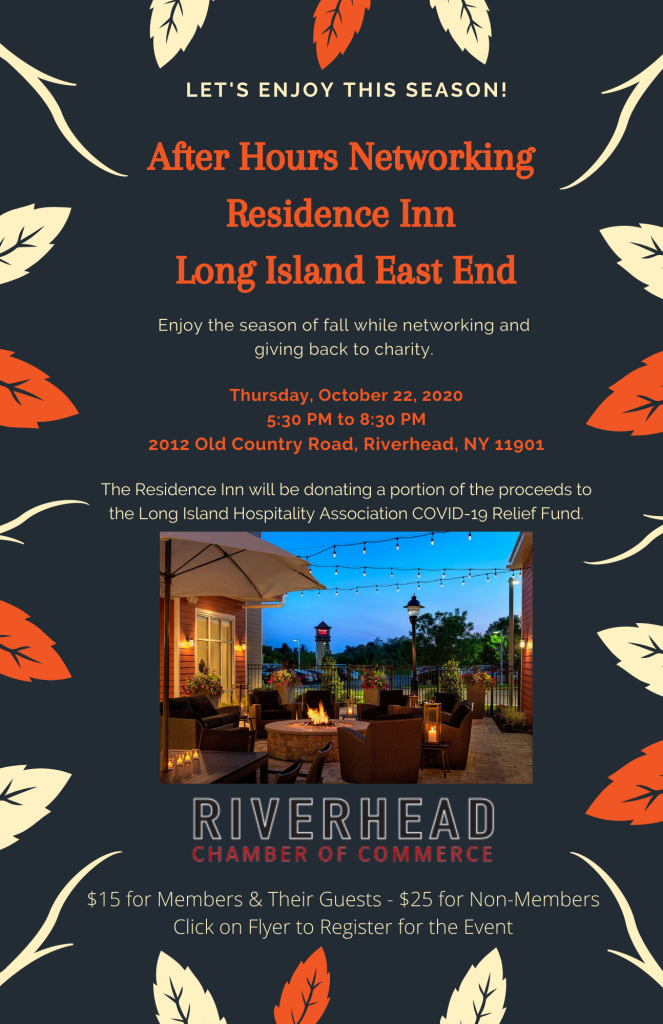 After Hours Networking Event at Residence Inn Long Island East End