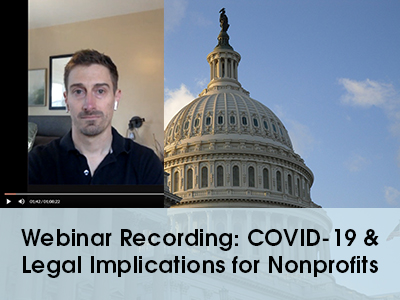 Legal webinar image - recording