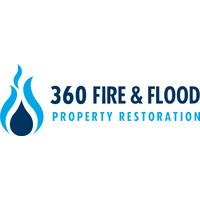 360 fire and flood logo