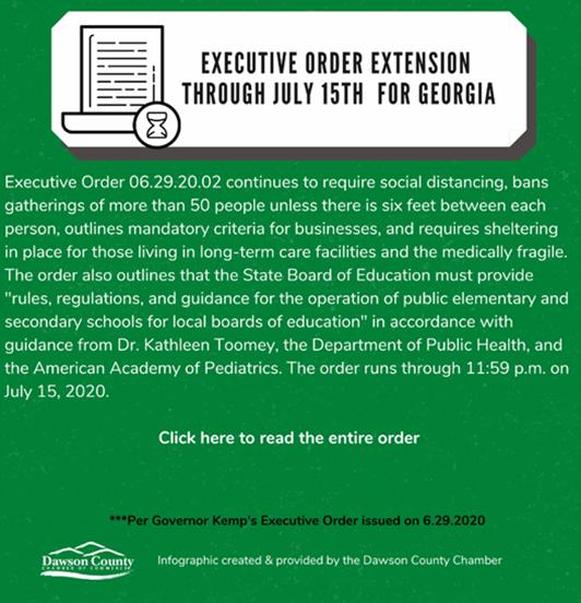 Exec Order extension