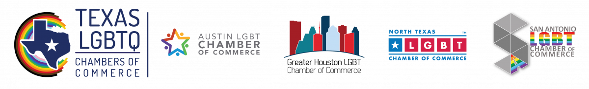 2020 Texas LGBTQ Chambers Logo Bar RGB (Transp)-01