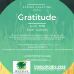 Arbor Place Spring Cleaning with Gratitude