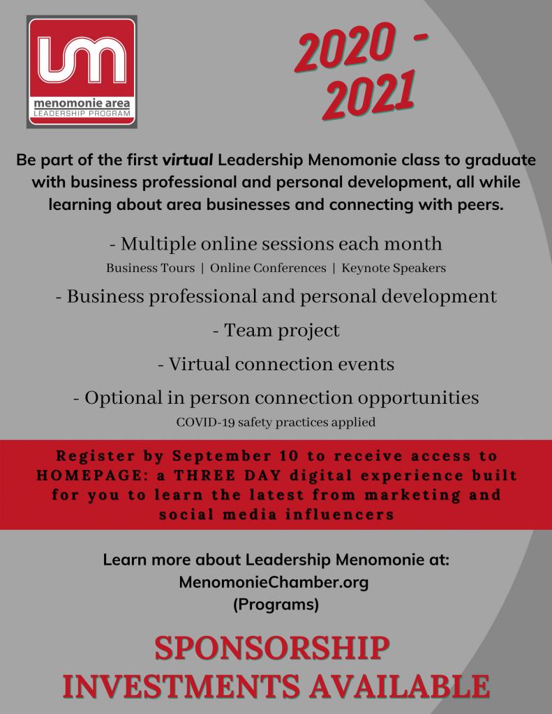 2020-2021 Leadership Menomonie