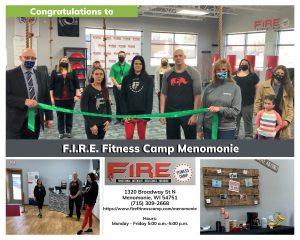 FIRE Fitness Ribbon Cutting