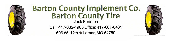 Barton County Implement Co & Tire