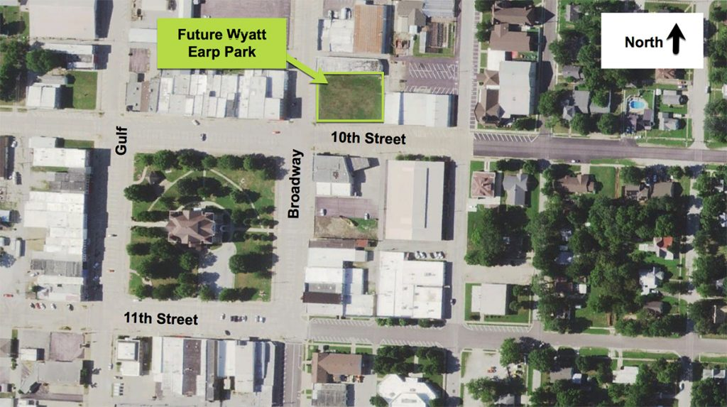 wyatt earp park location